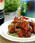 百里香紅酒雞