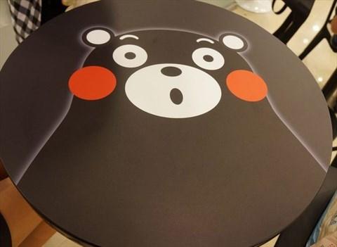 好可爱的熊本熊在上面呀图片
