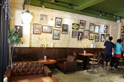 小餐馆吧台设计图