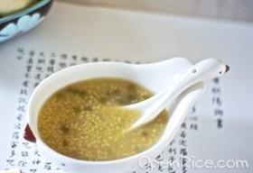 小米綠豆粥
