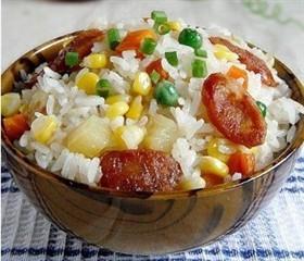 臘腸馬鈴薯燜飯