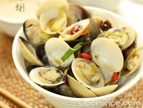 蔥薑炒蛤蜊