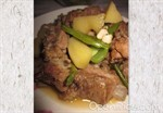 馬鈴薯花豆燉排骨