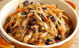 豆豉炒三絲