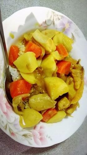 【Linda達琳の食譜】家常美味簡易版烹飪便當料理~咖哩雞肉飯~