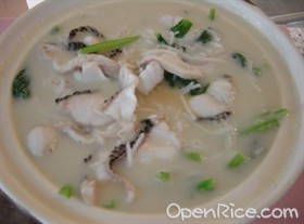 牛奶魚頭湯