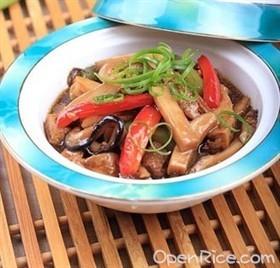 蠔油豆腐煲