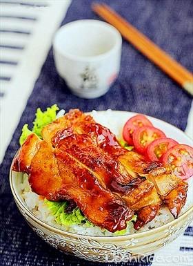 日式照燒雞腿飯