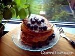 藍莓優格鬆餅