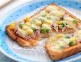 快手電飯煲土司披薩