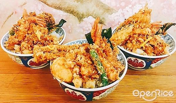 助 金子 半 之 金子半之助│日本人氣天丼專賣店進駐台中,用餐時刻人潮滿滿,超大一碗配料整個滿出來!