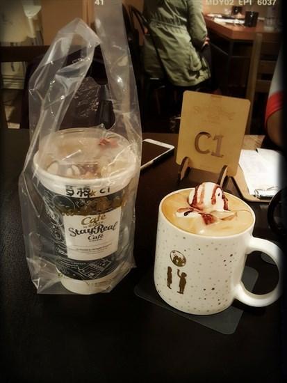 草莓棉花糖摩卡咖啡(NT 200)