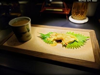 日本瑤柱、金華火腿、雞煲湯
